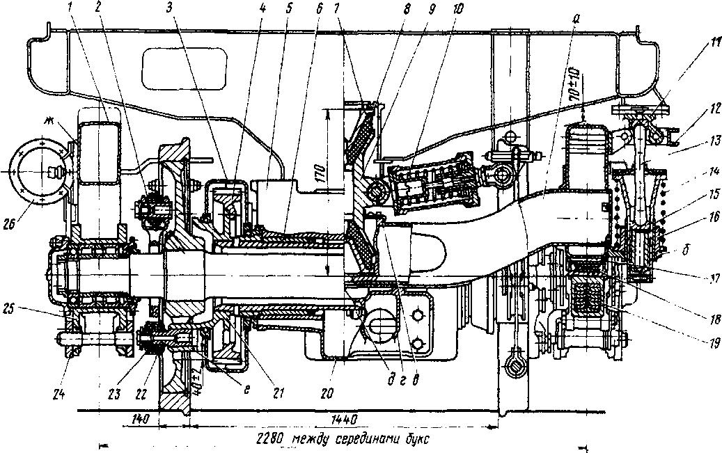 тепловоза ТЭП70 (№ 1—7) в
