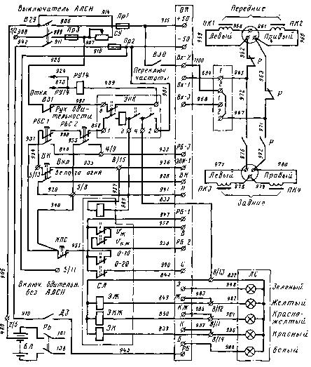 9 электрическая схема тепловоза тэм2 9 1 силовая цепь 9 2 питание цепей управления и освещения 9...